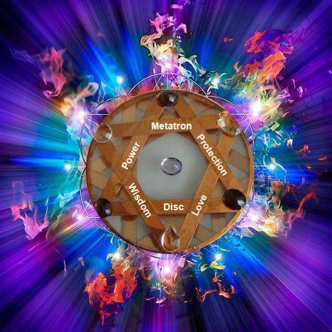 Discul Arhanghelului Metatron