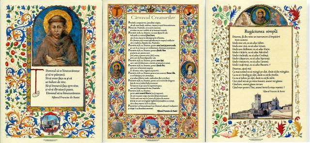 Rugaciunile Sfantului Francisc