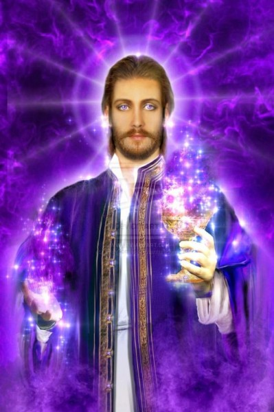 Saint Germain & The Violet Flame