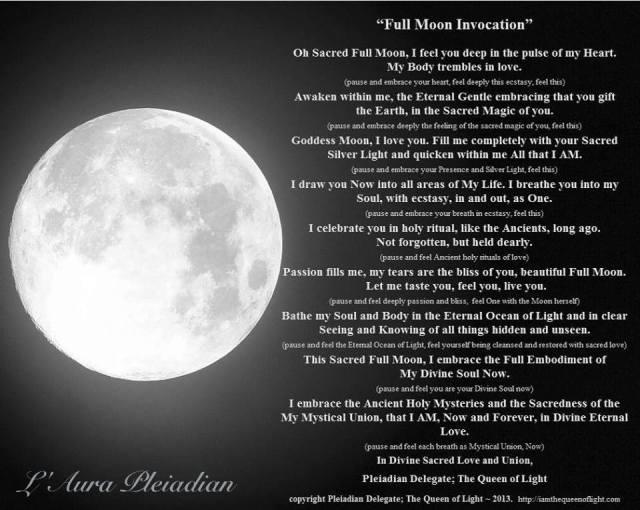 Invocatie - Luna Plina