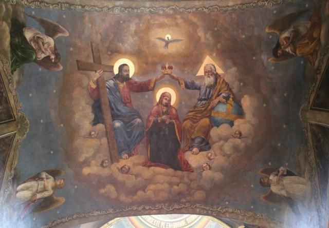 Sfânta Treime cu Fecioara Maria - Biserica Sfântul Anton - Curtea Veche din București