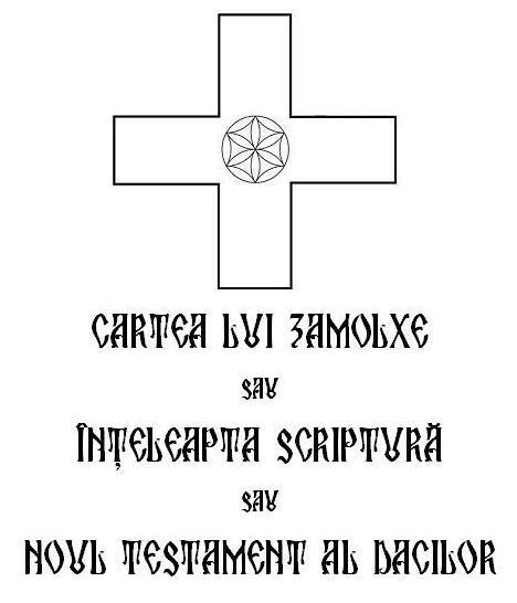 Cartea Lui Zamolxe