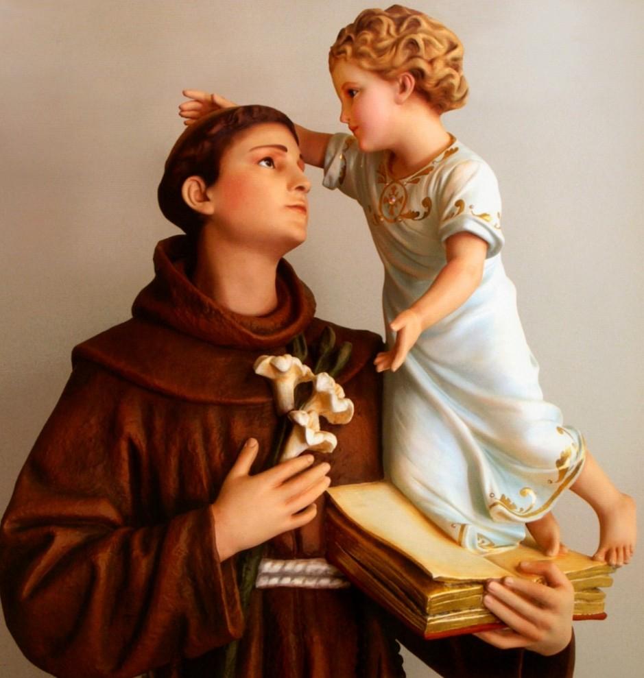 Sfantul Anton-de Padova-cu Pruncul Iisus