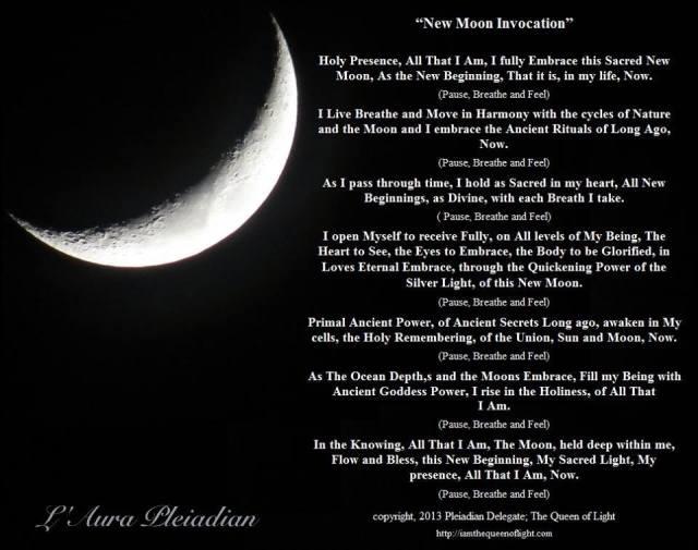 Invocație - Lună Nouă în Vărsător 27/28 Ianuarie 2017