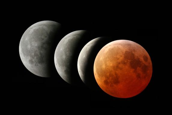 Lună Plină și Eclipsă de Lună