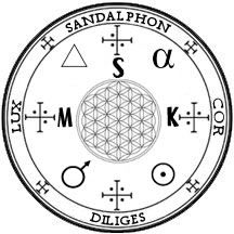 Simbol Arhanghel Sandalfon