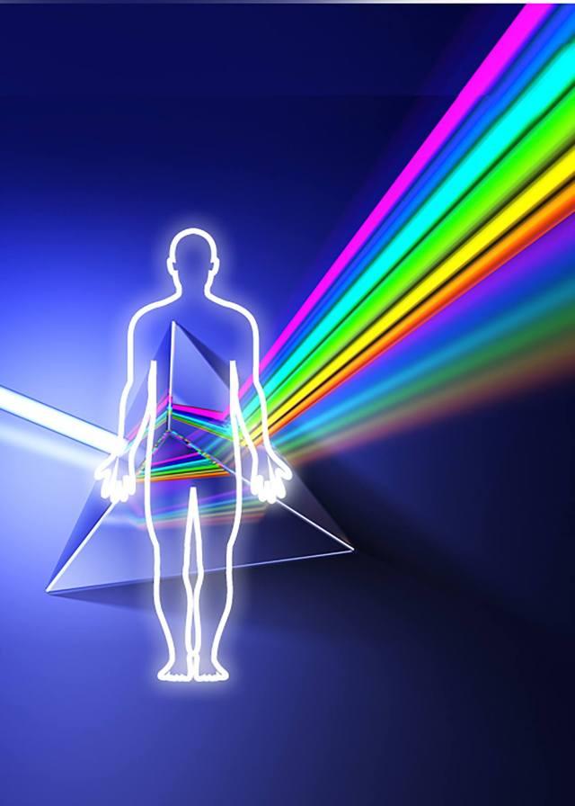 Prisma de Lumină Vindecătoare