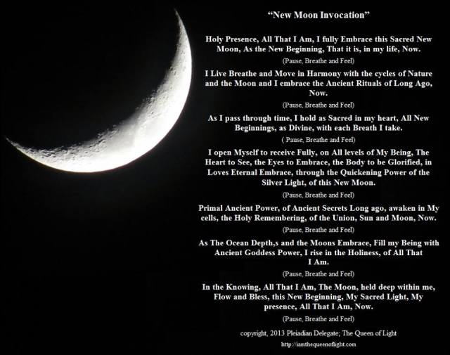 Invocația Lunii Noi