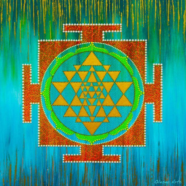 Mama Divină - Sri Yantra