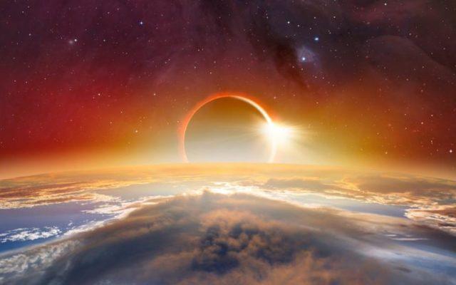 Eclipsă Solară - Lună Plină 10.01.2020
